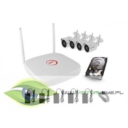 Zestaw do monitoringu WIFI2004PGE1SE200x4. Najniższe ceny, najlepsze promocje w sklepach, opinie.