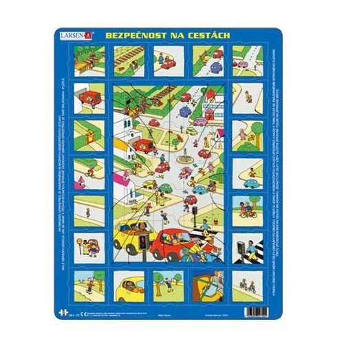Neuveden Puzzle maxi - bezpečnost silniční dopravy/35 dílků