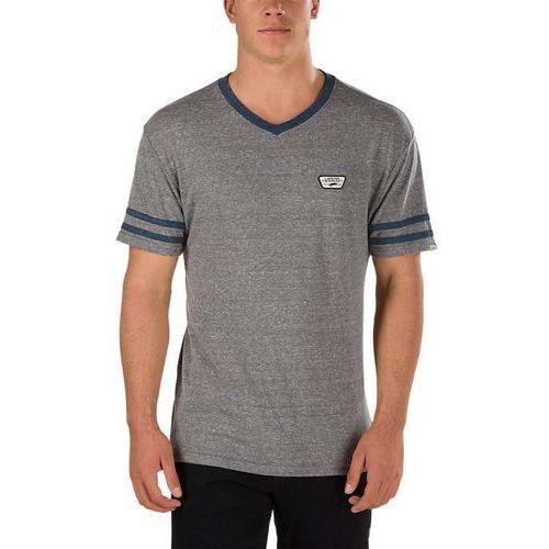 Koszulka - mini patch ringer heather grey (htg) rozmiar: xl, Vans
