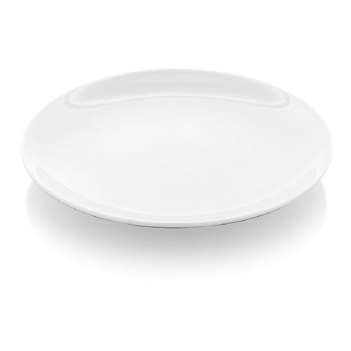 Fine dine Talerz bez rantu porcelanowy bianco