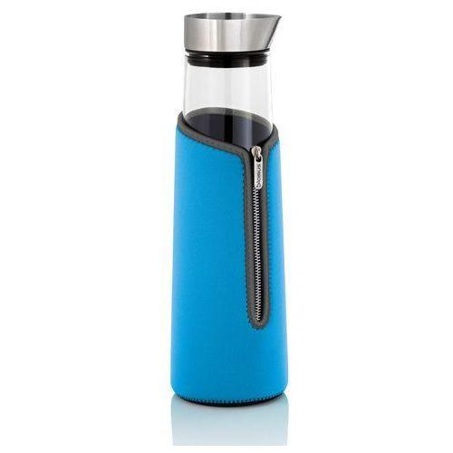 Blomus - acqua - pokrowiec termoizolacyjny na karafkę 1,50 l - niebieski - 1,50 l