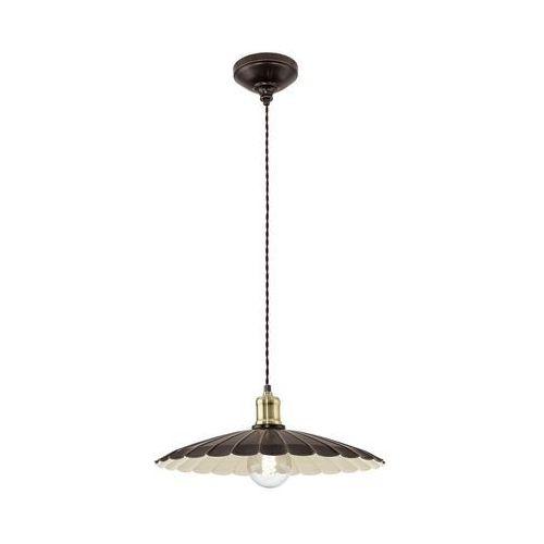 Lampa wisząca hemington 49462  metalowa oprawa zwis czarny marki Eglo