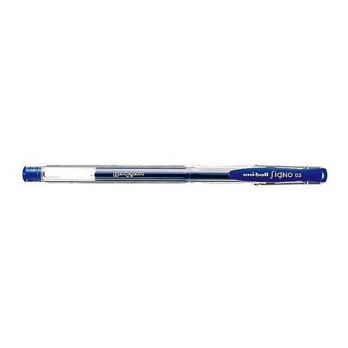 Długopis żelowy Uni ball Signo 0.5 UM-100 niebieski