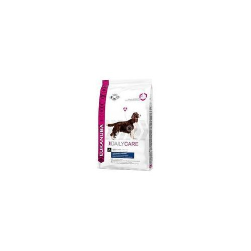 Eukanuba 12/15 kg  + 2 x 200 g healthy biscuits adult gratis! - daily care overweight & sterilised, 12,5 kg