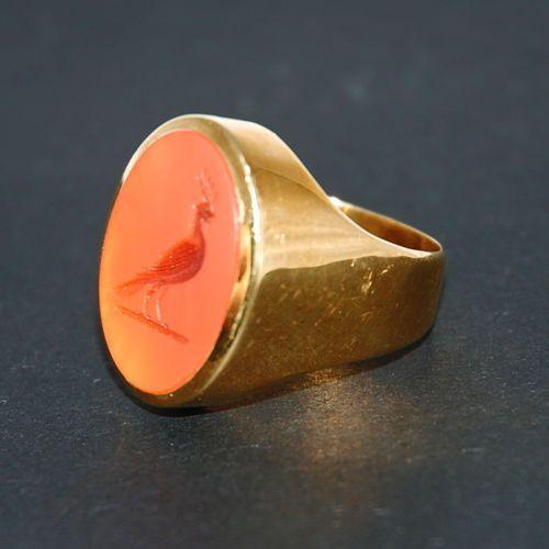 Złoty sygnet - P402