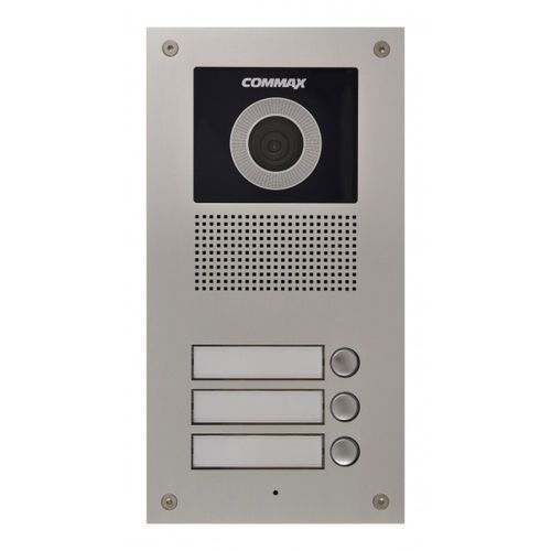 DRC-3UC/RFID Stacja bramowa 3-abonentowa z kamerą i czytnikiem kart RFID COMMAX, DRC-3UC/RFID