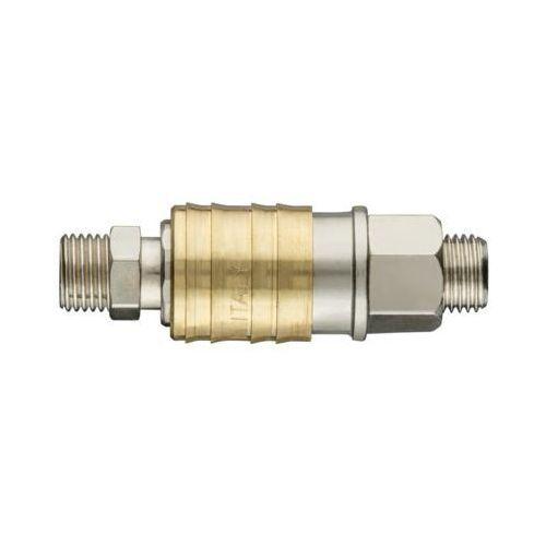 Szybkozłączka do kompresora NEO 12-646 gwint zewnętrzny męska z końcówką 3/8 cala (5907558417982)