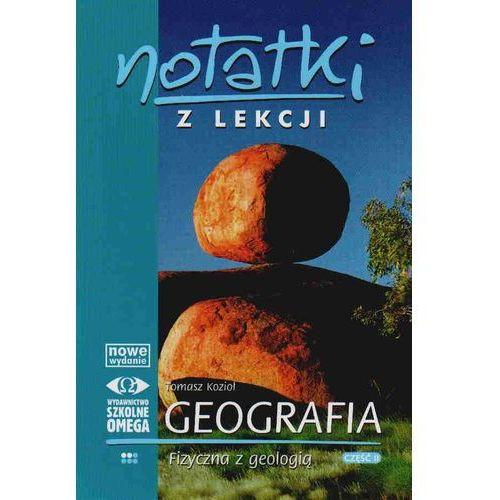Notatki z lekcji. Geografia fizyczna z geologią. Część 2