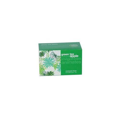 Kolorowe herbaty Zielona herbata cejlońska z jabłkiem