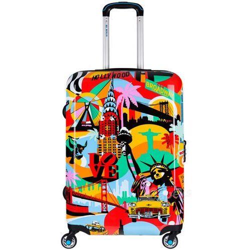 BG Berlin LOBO średnia walizka na 4 kółkach / American Way - American Way