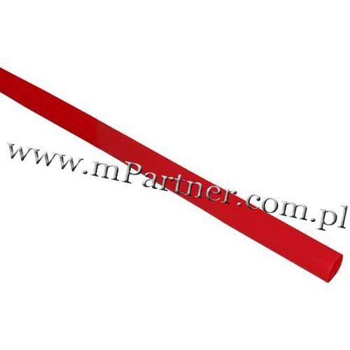 Rura termokurczliwa elastyczna V20-HFT 6/3 czerwona