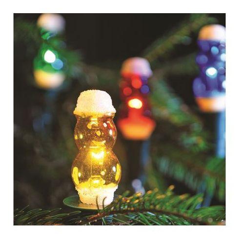 Łańcuch świąteczny FIGURINE 12xE10/20V/230V kolorowy (8595583801547)
