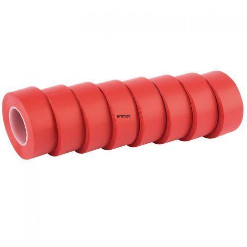 Taśma izolacyjna czerwona 10m x 19mm 8 szt. marki Draper expert