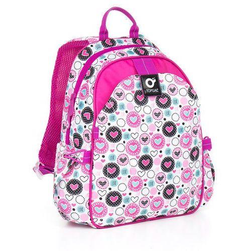 Topgal Plecak do przedszkola  chi 840 h - pink