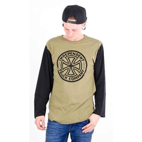 Koszulka - vintage itc baseball black/herb (black herb ) rozmiar: xl marki Independent