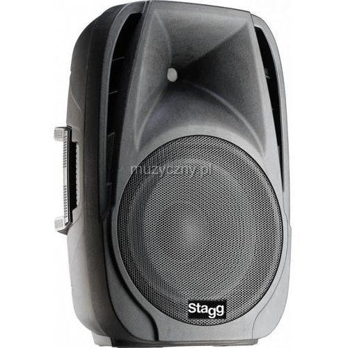 Stagg PMS 12D kolumna głośnikowa aktywna 12″ + 1,35″, 400W, USB / SD / Bluetooth