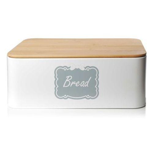 Chlebak metalowy z pokrywą bambusową marki Dekoracja domu. Najniższe ceny, najlepsze promocje w sklepach, opinie.