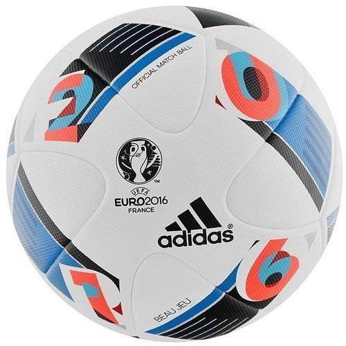 Piłka nożna meczowa Euro 2016 Beau Jeu Top OMB rozmiar 5 Adidas - sprawdź w wybranym sklepie