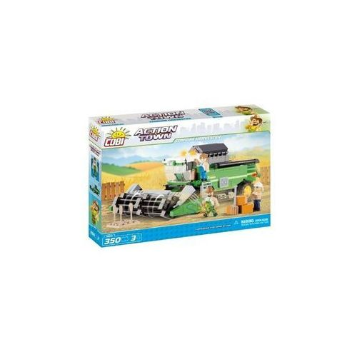 Klocki Cobi Action Town Kombajn Eco Power