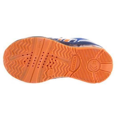 todo tenisówki dziecięce niebieski pomarańczowy 22 od producenta Geox