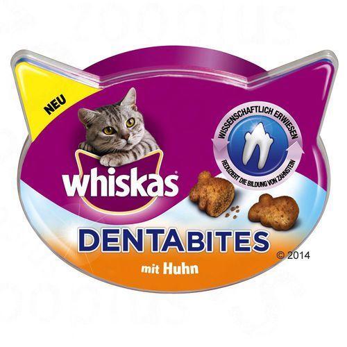 Whiskas dentabites - łosoś, 5 x 40 g