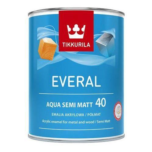 Emalia akrylowa Tikkurila Everal Aqua baza C półmat [40] 0 9 l (6408070075548)