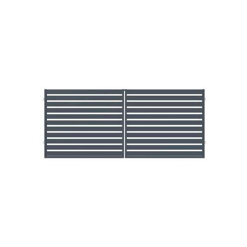Polargos Brama dwuskrzydłowa szafir 350 x 150 cm