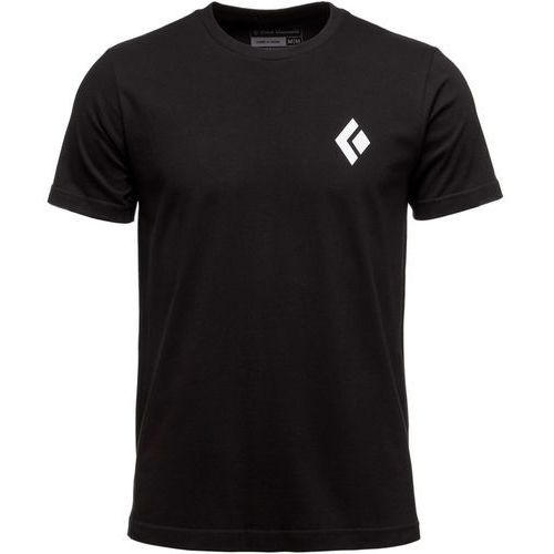 Black diamond equipment for alpinists tee tshirt z nadrukiem black (0793661316619)