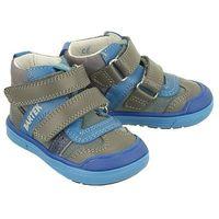 Bartek 81859 1n szaro-niebieski, trzewiki profilaktyczne dziecięce, rozmiary: 19-26 - niebieski