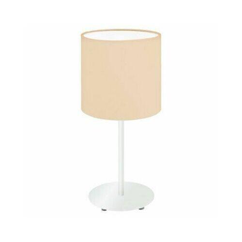 Lampka pasteri-p 97565 stołowa nocna 1x60w e27 pomarańczowa marki Eglo