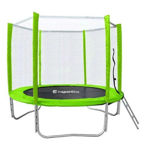 Insportline Zestaw trampolina 3w1 froggy pro 244 cm (8596084013118)