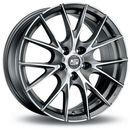 Msw Felga  msw25 matt titanium machined face 6x15 4x108 et22