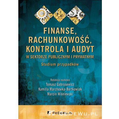 Finanse, rachunkowość, kontrola i audyt w sektorze publicznym i prywatnym. Studium przypadków*natychmiastowawysyłkaod3,99 (234 str.)