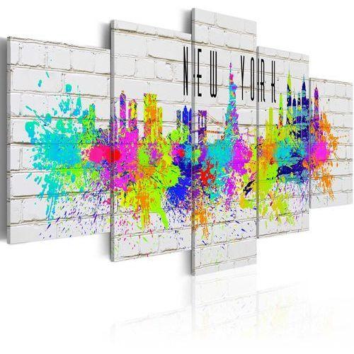 Artgeist Obraz - kolorowy nowy jork