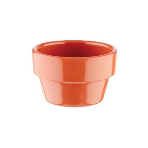 Mini naczynie FLOWER POT z melaminy ceglane 40 ml