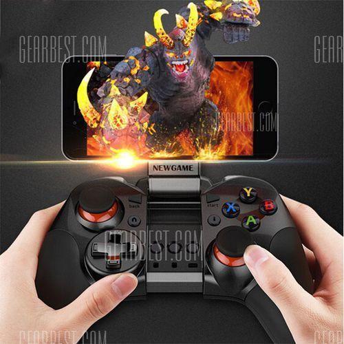 Newgame G8007 Bluetooth V4.0 Wireless Game Controller Gamepad Joystick with Stretch Phone Holder - sprawdź w wybranym sklepie
