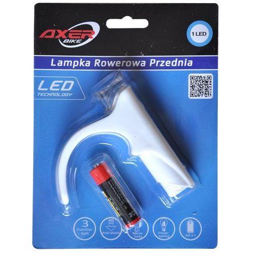 Lampka rowerowa AXER BIKE przednia A0940 + Zamów z DOSTAWĄ JUTRO! (5901780909406)