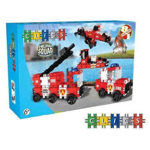 CB675 Klocki CLICS Hero Squad RollerBox Nowość LATO 2014