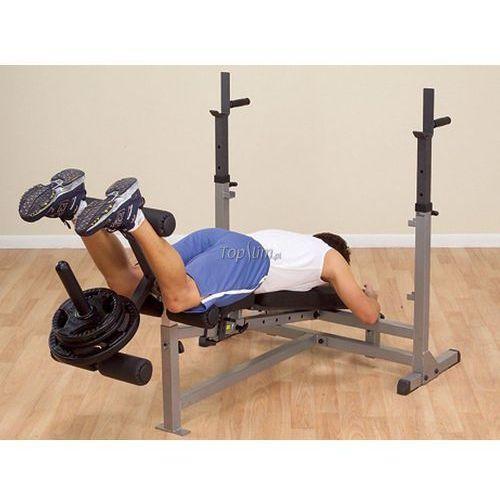 Body-solid Ławka ze stojakiem do ćwiczeń gdib46l insportline profesjonalna