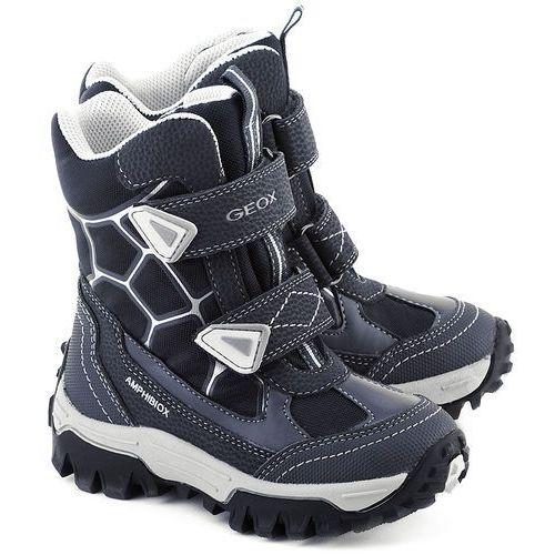 GEOX - Geox Junior Himalaya - Śniegowce Dziecięce - J54B5B 011BC C0673