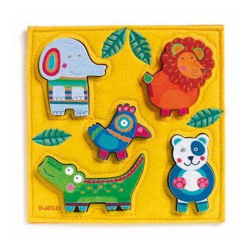 Puzzle wesoła dżungla Djeco DJ01041, DJ01041