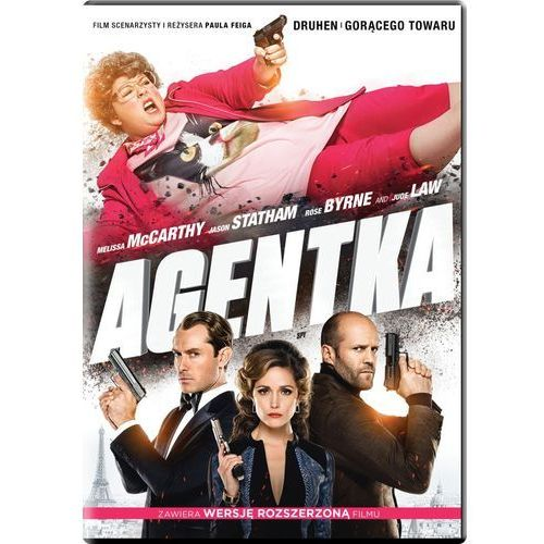 Agentka (DVD) - Paul Feig (5903570157387)