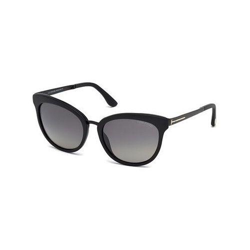 Tom ford Okulary słoneczne ft0461 polarized 02d