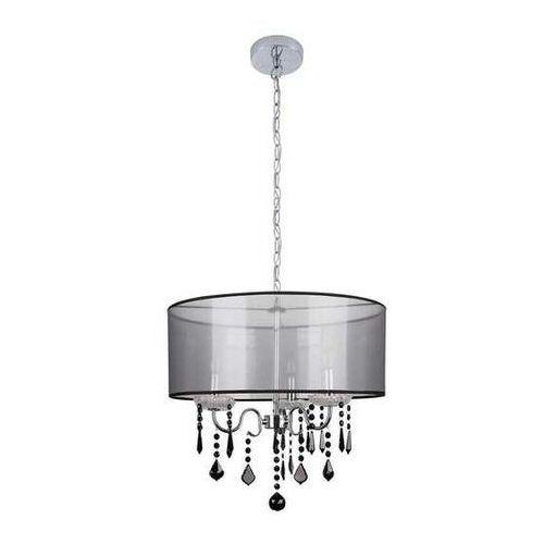 sottile 33-73921 lampa wisząca zwis 3x40w e14 czarny/srebrny marki Candellux