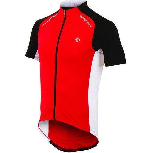 Pearl izumi elite pursuit - męska koszulka rowerowa (czerwony-biały)