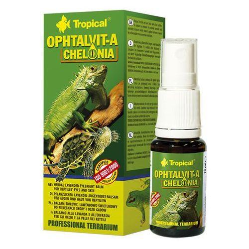 TROPICAL Ophtalvit-A Chelonia - balsam do pielęgnacji skóry i oczu gadów 15ml (5900469130117)