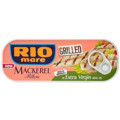 RIO MARE 120g Grillowane filety makreli w oliwie z oliwek