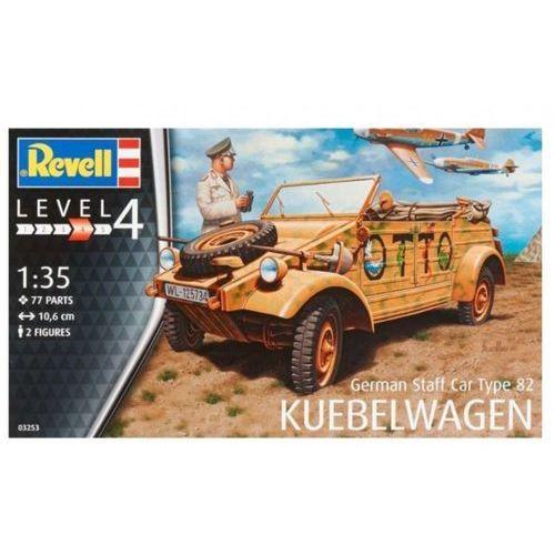 Model plastikowy niemiecki samochód sztabowy typ 82 Kubelwagen (4009803032535)