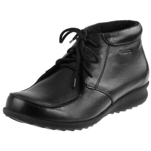 Botki Lesta 6304 - Czarne (czarny spód)