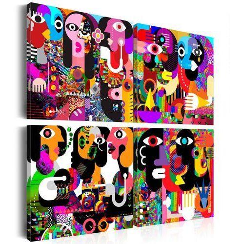 Obraz - abstrakcyjne rozmowy marki Artgeist